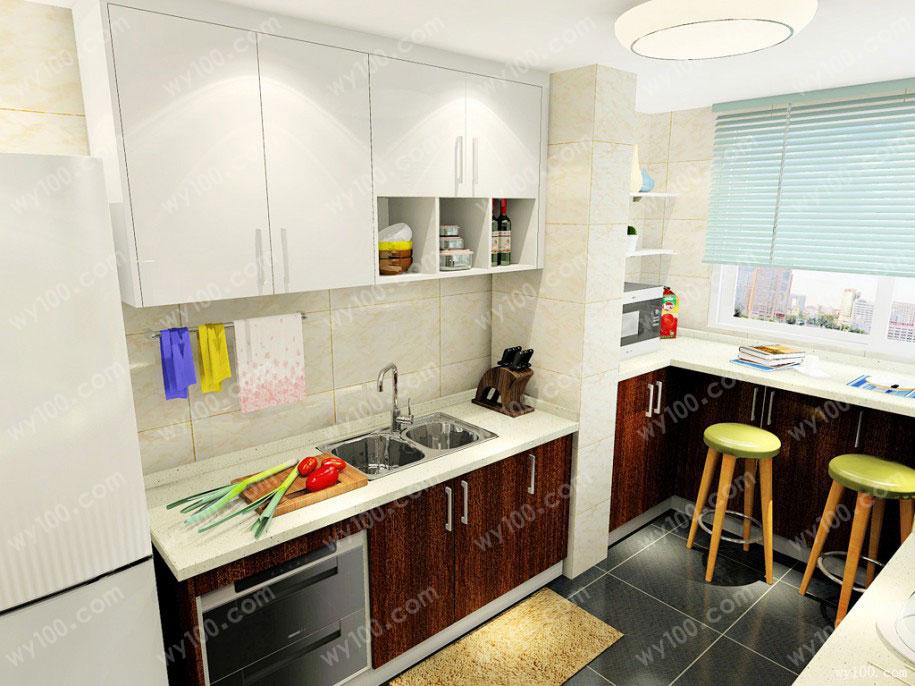 小户型厨房装修收纳技巧,让你后患无忧