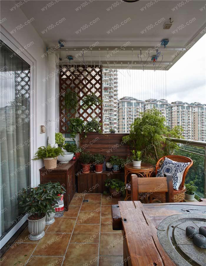 这些阳台花架的设计要点值得注意