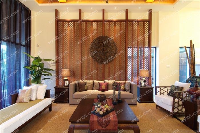 中式客厅窗帘选择方法 - 维意定制家具网上商城