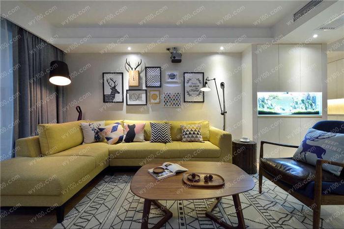不带阳台的客厅如何装修 - 维意定制家具网上商城