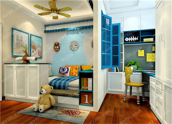 儿童房的背景墙怎么装饰 - 维意定制家具网上商城