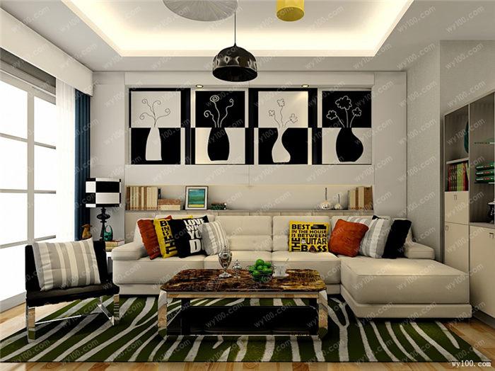 客厅色彩搭配方案 - 维意定制家具网上商城